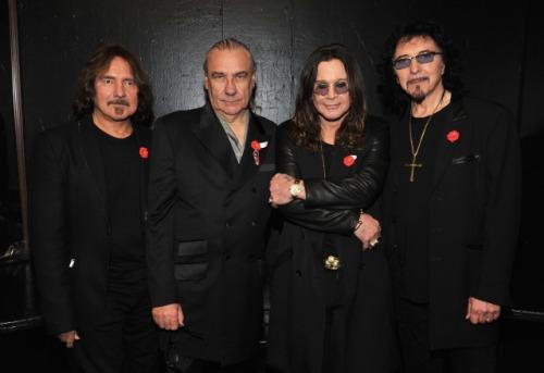 Bandet i samband med presskonferensen 11-11-11